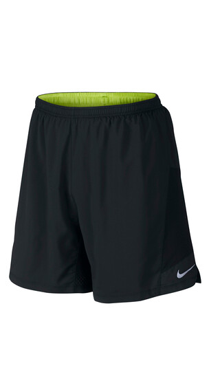 "Nike Pursuit 2-in-1 7"" Short Men black/black/volt"